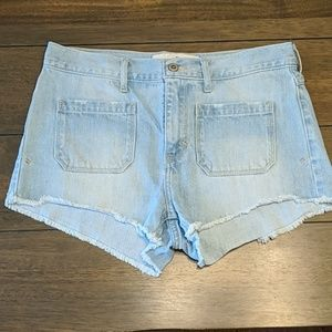 Hollister High Waisted Short Shorts